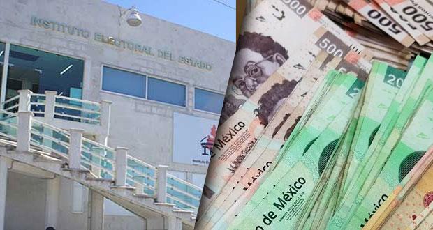 Reorganiza IEE financiamiento para dar a RSP y FSM 843 mil pesos