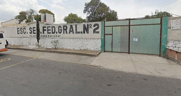 Tirarán escuela en Tecamachalco para mercado; no consultaron, acusan