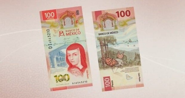 Nuevo billete de $100 de México, galardonado como el mejor del mundo