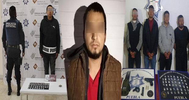 """Capturan a hermano de """"El Moi"""" y a 5 presuntos delincuentes"""