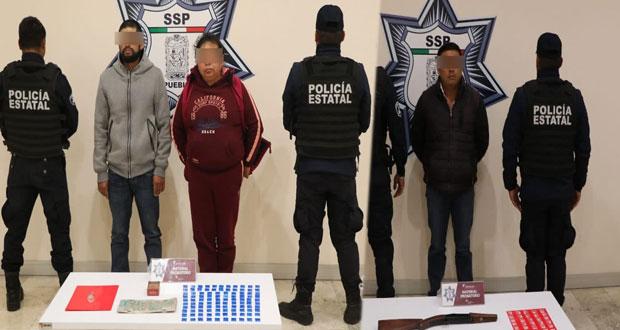 """SSP detiene a 2 narcovendedores y 1 operador de """"El Moco"""""""