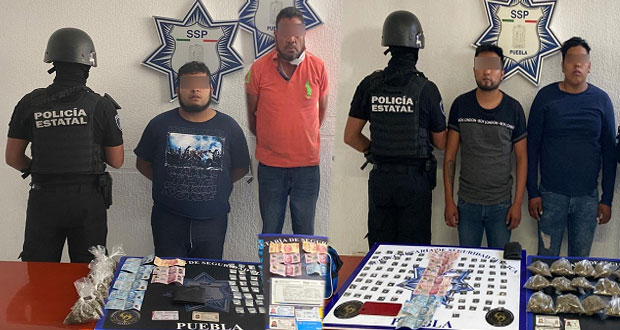 """Caen 3 narcomenudistas y """"El Alacrán"""", homicida y secuestrador"""