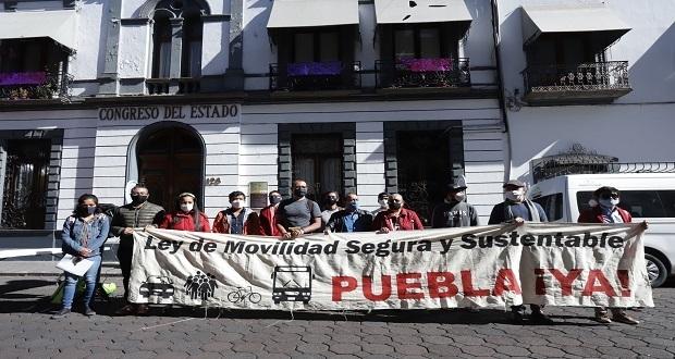 Urgen al Congreso de Puebla ley que priorice la movilidad peatonal