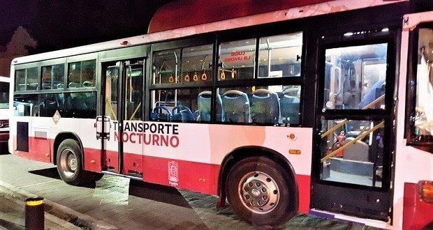 Por El Buen Fin, reanudan transporte nocturno en Puebla capital