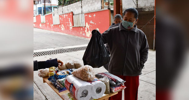 Antorcha en Huitzilan pone centros de acopio para ayudar a Tabasco