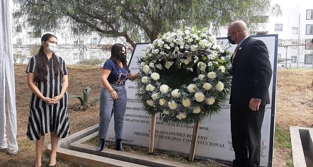 Conmemoran a víctimas a 10 años de la explosión en Texmelucan