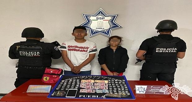 """Capturan a dos presuntos narcomenudistas de """"El Moi"""""""