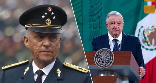 AMLO asegura que Justicia de EU fabricó pruebas a Cienfuegos