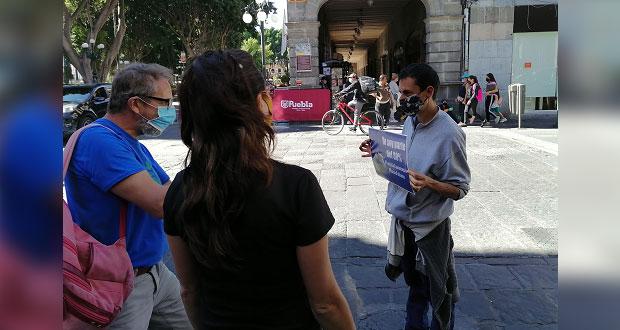 Activistas inician campaña en contra de la tauromaquia en Puebla