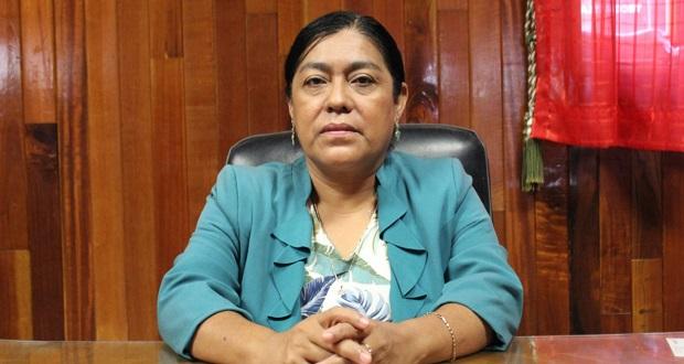 Alcaldesa de Tecomatlán llama a reforzar medidas sanitarias