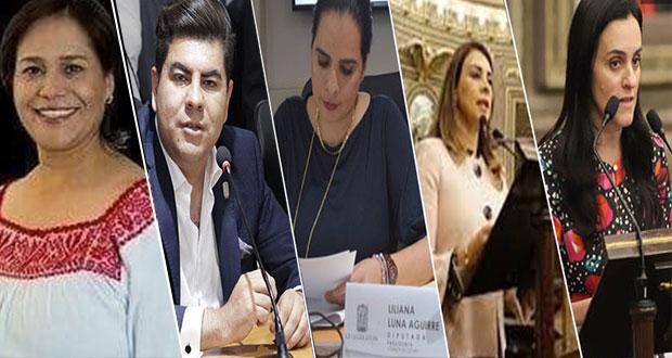 Congreso aprueba licencia de 5 diputados locales que buscan otro cargo