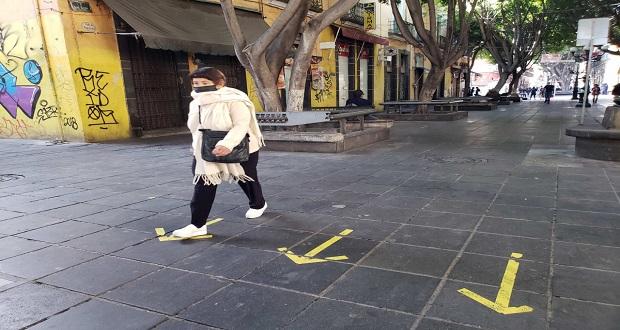 ZM pasa a semáforo naranja en Covid-19; Puebla, con 208 casos en un día