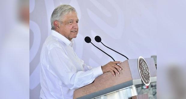 En Campeche, vacunarán a 20 mil trabajadores de la educación: AMLO