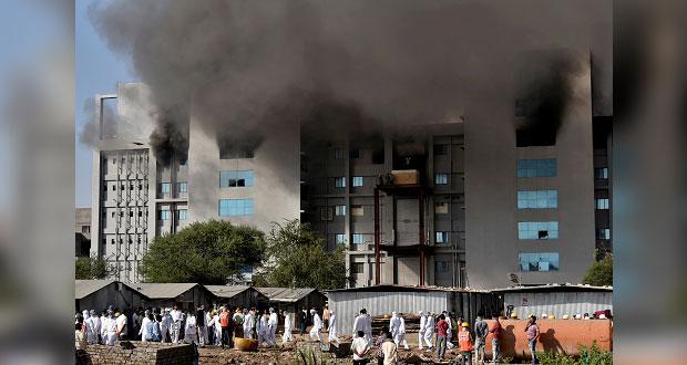 En India, incendio en sede donde elaboran vacunas deja 5 muertos