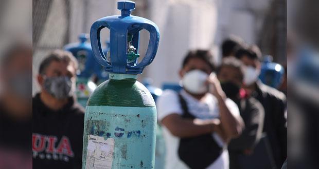 Gobierno federal exhorta a devolver tanques de oxígeno rentados