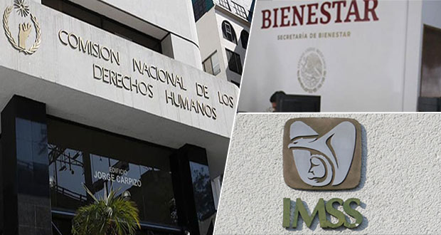 IMSS y Bienestar, los más señalados ante CNDH por violación de DH en Puebla