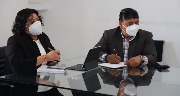 Karina Pérez y Sedatu revisan agenda de proyectos para San Andrés
