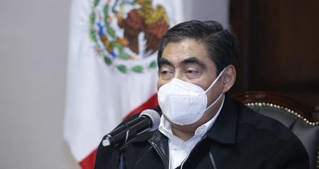 Todo Puebla, en riesgo de regresar a semáforo rojo: Barbosa