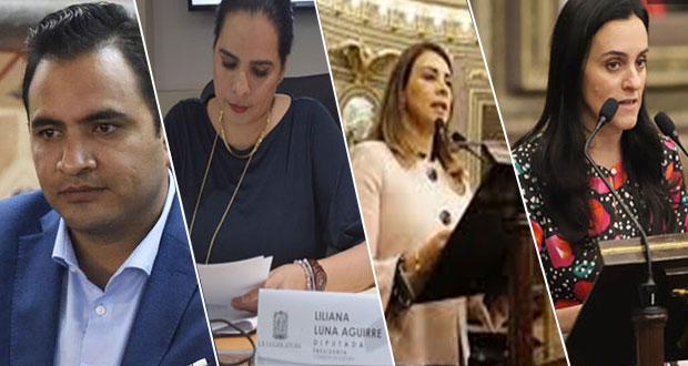Van 4 diputados locales que solicitan licencia; buscarían otro cargo