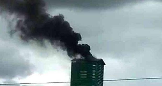 Denuncian operación de crematorio clandestino en Amozoc