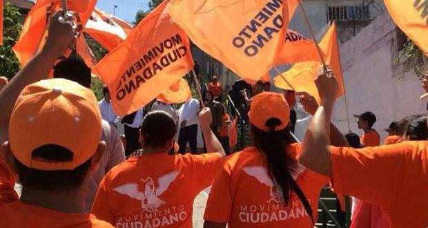 187 militantes de MC se apuntan para competir por alcaldías de Puebla
