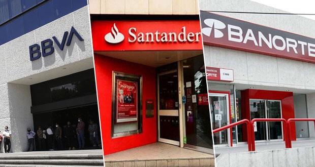 BBVA, Santander, Banorte, bancos con más quejas de fraudes virtuales