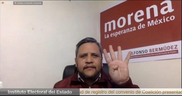 Alianza Morena-PT es un acto de congruencia, afirma Bermúdez