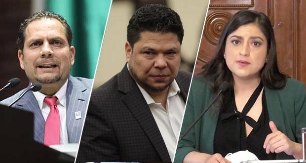 Carvajal, Biestro, Rivera y 5 más buscan la alcaldía de Puebla con Morena