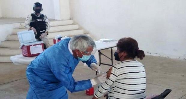 Llegarán 39 mil vacunas Sinovac para adultos mayores de Tehuacán y Tlacotepec