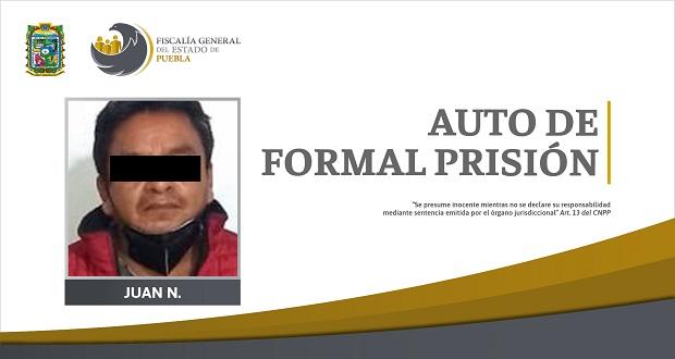 Mató a un hombre en mayo de 2004, le dictan auto de formal prisión