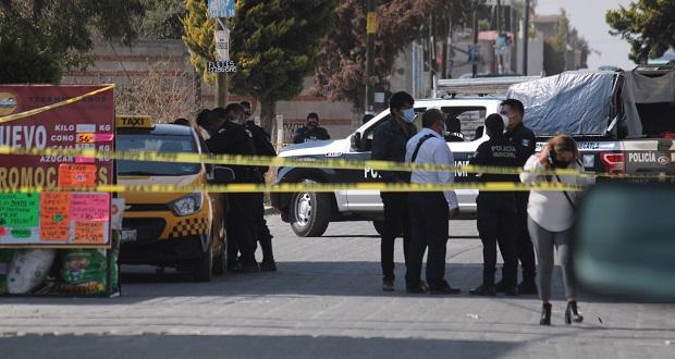 A balazos, matan a hombre en Cuautlancingo frente a su esposa