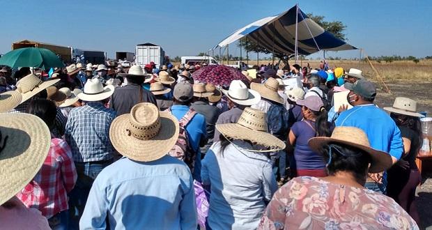 Agricultores de la Mixteca exigen fertilizante; acusan dicriminación