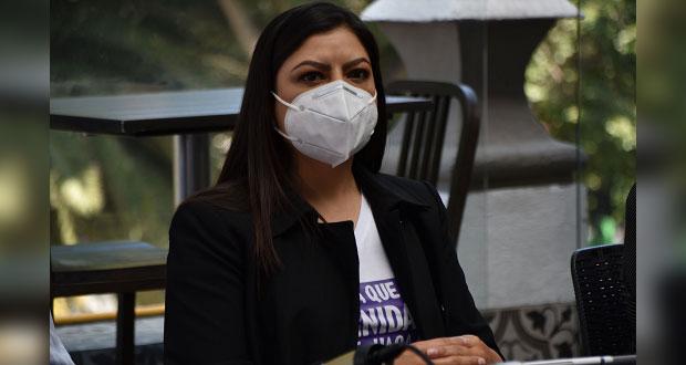 Claudia Rivera ve campaña negra en su contra; asegura encabezar preferencia