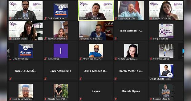 Coparmex busca acreditar 200 observadores en Puebla para elección