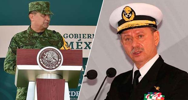 Gabinete de Seguridad: titulares de Sedena y Semar, con Covid-19