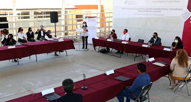 Impulsa SEP reactivación económica con proyecto educativo regional