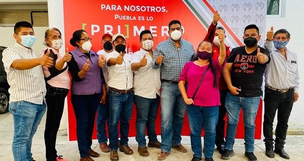 Más de 15 antorchistas se registran como precandidatos del PRI