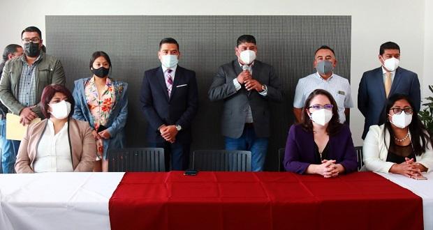 Maxil presenta nuevos funcionarios para San Andrés Cholula