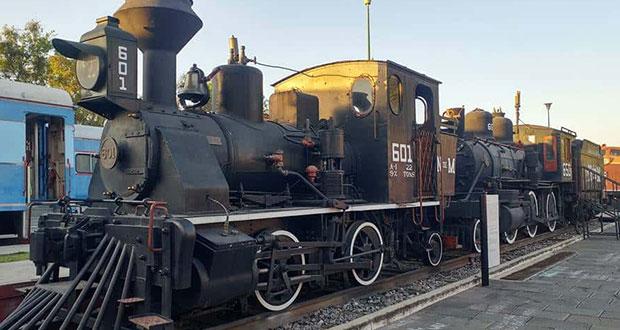Museo del Ferrocarril reabrirá sus puertas con aforo del 20%