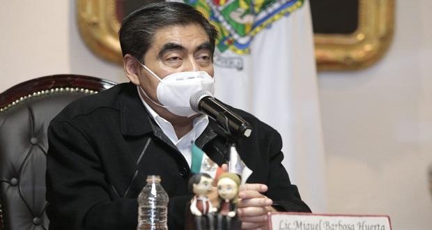 Roemer no es esencia de lo que se hace en Puebla: Barbosa sobre CDI
