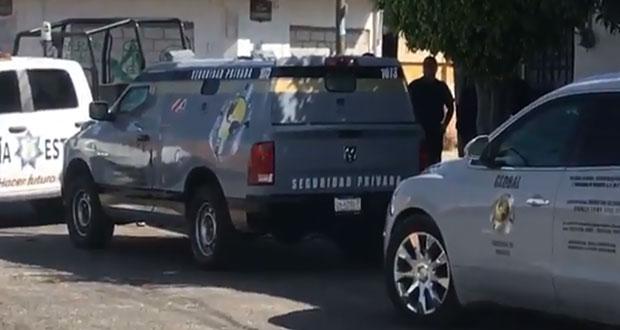 Comando roba 1 millón de pesos de camioneta de valores en Acatzingo