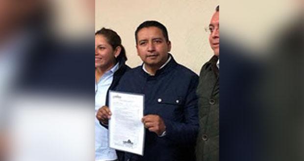 Tlatehui gana consulta para ir con PAN por alcaldía de San Andrés Cholula