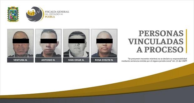 Vinculan a 4 policías de Ocoyucan por abuso de autoridad
