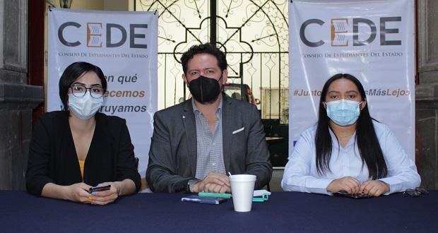 9 candidatos jóvenes de Consejo de Estudiantes contenderán en Puebla