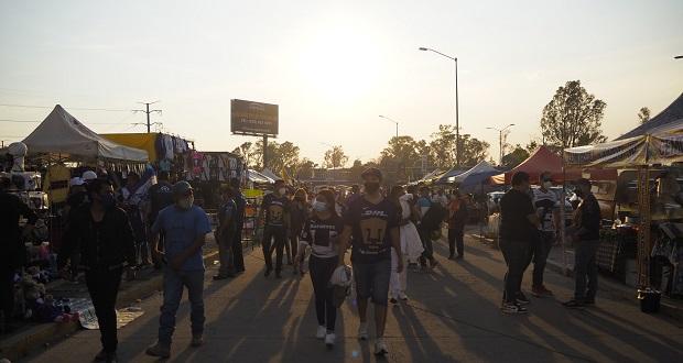 Aficionados regresan al estadio Cuauhtémoc tras más de un año en pandemia