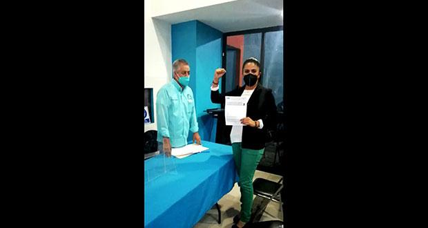 Abandera NA a Hurtado a alcaldía de Puebla; van 7 candidatos por la capital