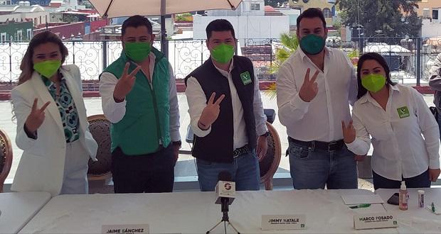 Antonio Fosado, candidato del PVEM a la alcaldía de San Andrés