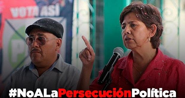 Antorchistas se pronuncian contra agresión a Edith Villa