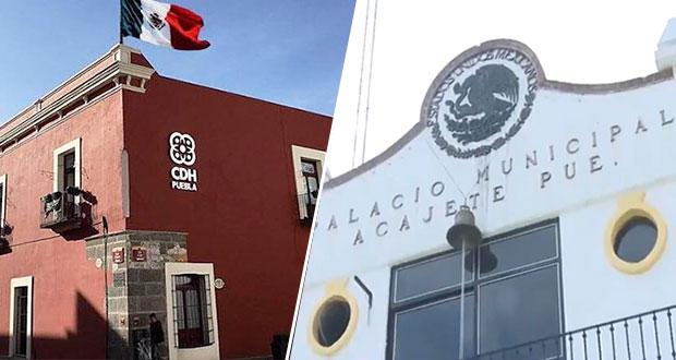 CDH ordena a Acajete reparar daño por muerte de detenido en 2020