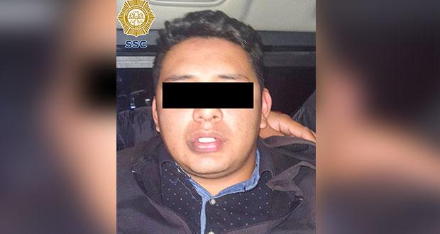 Cae sujeto grabado golpeando a mujer en CDMX; es de la Guardia Nacional